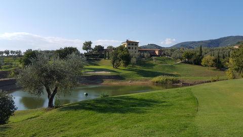 Grotta Giusti Resort, Golf Spa